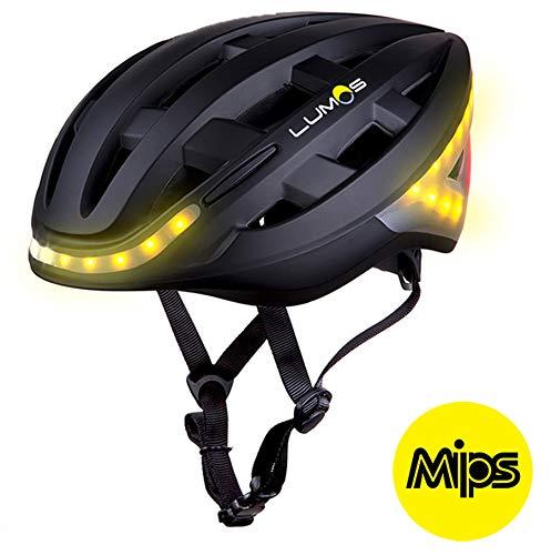 Lumos Kickstart Mips Fahrradhelm 2020, Farbe:charcoal black uni