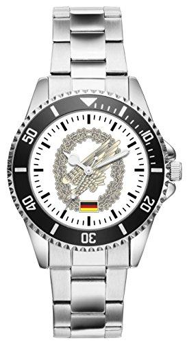 KIESENBERG Uhr - Soldat Geschenk Artikel Bundeswehr Fallschirmjäger 1150