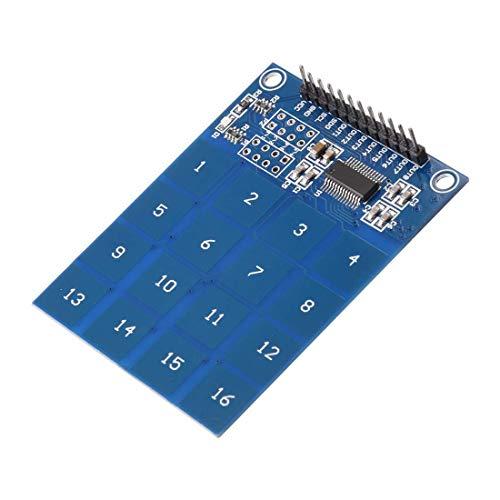 TTP229B Capacitive 16 Button Touch Sensor Pad Module for Arduino