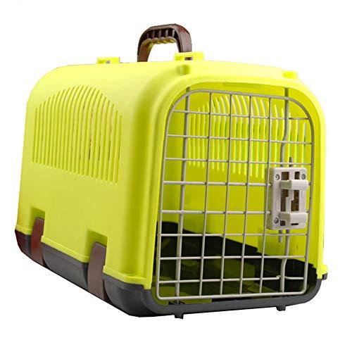 Pet Air Box Sortie Portable Pet Valise Pet Fournitures Multi-Couleur boîte à air Pet Out Cage d'air Chat Dog Cage,Yellow