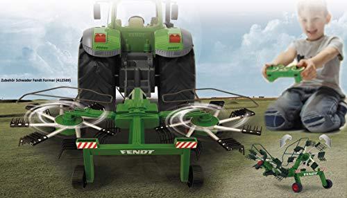 RC Auto kaufen Traktor Bild 2: Jamara 405035 – Fendt 1050 Vario 1:16 2,4Ghz – RC Traktor, Motorsound (abschaltbar), Rückfahrwarnsound, Hupe, Abschaltfunktion, 2 Radantrieb, Gummireifen, Helle LED's vorne, Blinker, Demo Funktion*