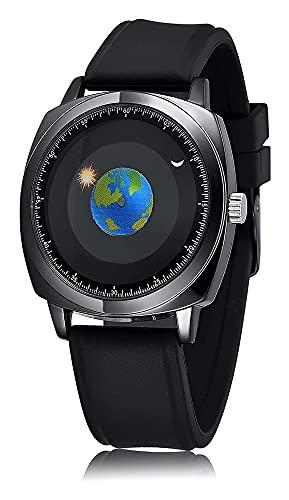 Relojes de diseño de moda e innovadores, relojes de silicona casuales simples para hombres y mujeres, relojes creativos de concepto de moda fresco, relojes personalizados, los mejores Regalo para pare