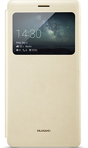 Huawei View Flip Cover für Mate S champagne