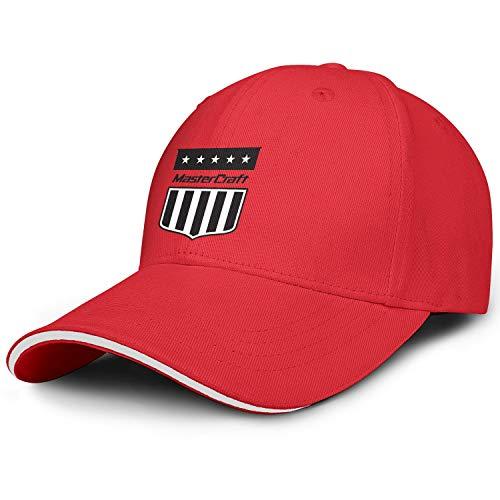 Unisex Adult Mastercraft Logos Adjustable Fashion FlatSnapback Hat