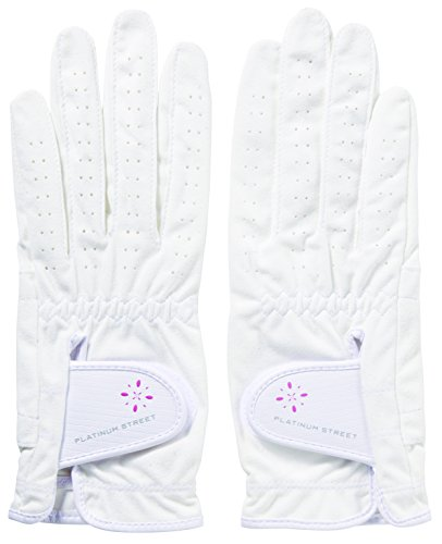 キャスコ(Kasco) ゴルフグローブ キャスコ グローブ レディース PS-1215LW 両手 ホワイト 21
