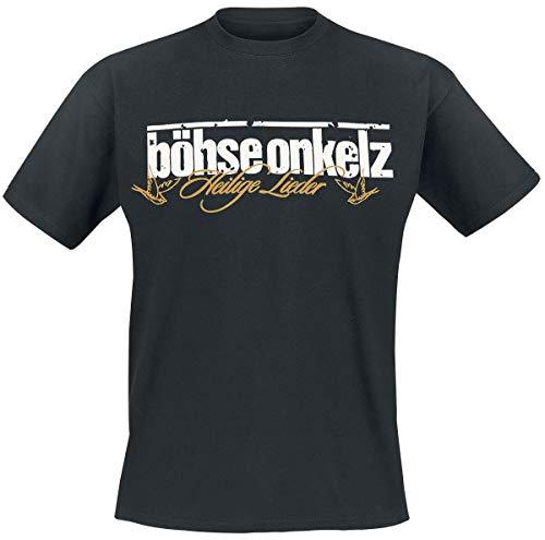 Böhse Onkelz Gehasst, verdammt, vergöttert II. Männer T-Shirt schwarz XXL