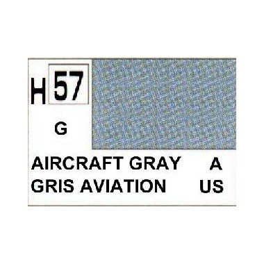 Gunze - Avion Miniature - Peinture maquette Gunze Gris Avion - H057