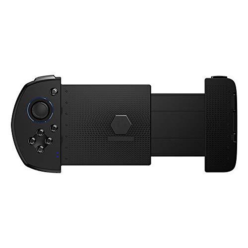Controlador de juego móvil OneHanded Black Wireless Bluetooth Gamepad con Joystick, para iPhone COD/PUBG