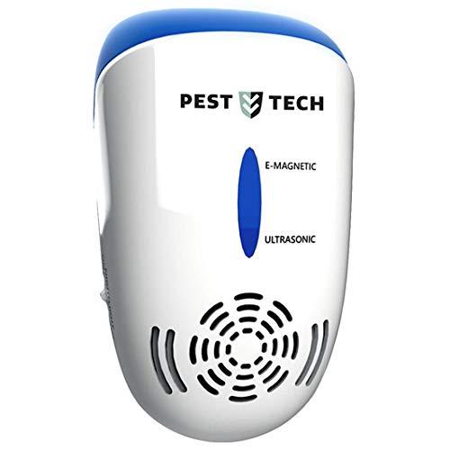Repellente a ultrasuoni Pro 5 x 1   25 – 50 KHz ad ultrasuoni contro ratti, topi, cani, parassiti,...