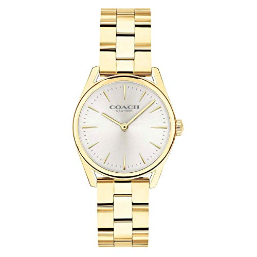 Coach 14503208 Gold with White Dial Modern Luxury Women's Bracelet...