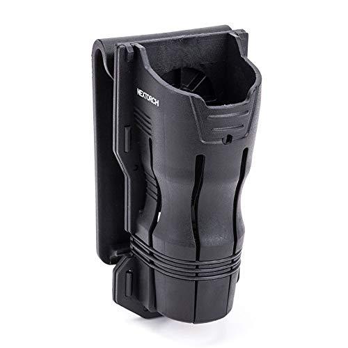 Tactical Flashlight Holster 360 Rotation Compatible Holder...