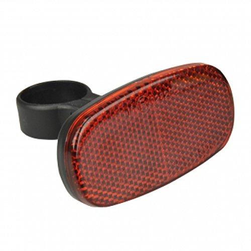 FISCHER Erwachsene Reflektor Heck Universalhalterung, rot, Universal