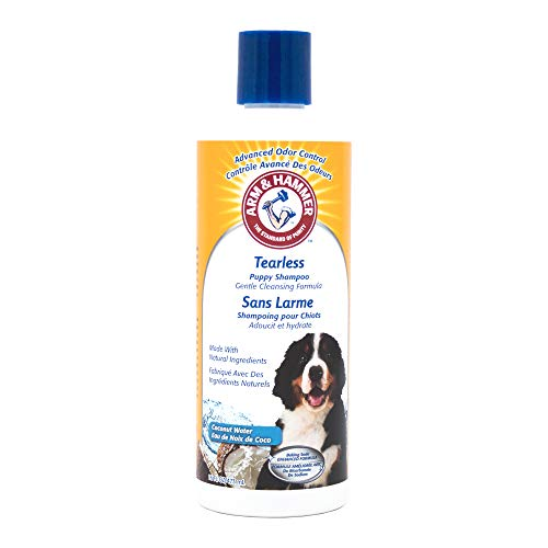 Arm & Hammer Tearless Puppy Shampoo, Tearless Dog Shampoo Gently Cleans &...
