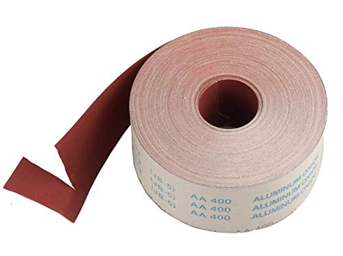 HNLZGL 1meter Emery Cloth Roll Polishing Sandpaper For Grinding Polishing Tools Metalworking Dremel 80/100/120/150/180/240/320/400/600,150 Grit