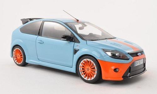 Ford Focus RS Le Mans Classic Edition, hell-blau/orange , 2010, Modellauto, Fertigmodell, Minichamps 1:18