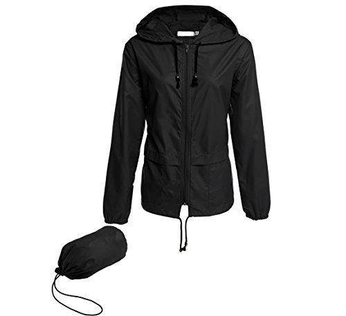 ladies hooded raincoat - 8