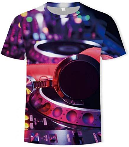 YF Camiseta con Estampado 3D de Verano de Manga Corta 3D para Hombres...