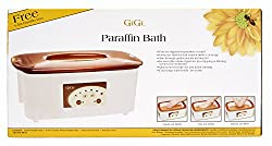Use paraffin to fix cracked heels with the GiGi Digital Paraffin Bath with GiGi Peach Paraffin Wax