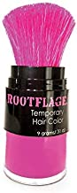Rootflage Temporary Fun Hair Color - Shampoo Out Pink Color -Works on Dark Hair (01 Pink Parade)