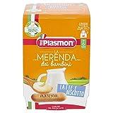 Plasmon Merenda dei Bambini Latte e Biscotto, 24 x 120 g