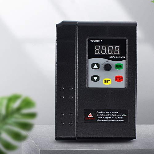 Frequenzumrichter 3 Phase VFD-Wechselrichter Drehzahlregler 380V 1.5KW Variable Frequency Driver Fähigkeit Inverter, Einstellbare für Spindelmotor Drehzahlregelung