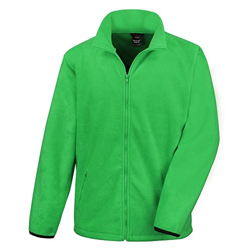 Result Core Herren Fleece-Jacke (2XL) (Vivid Grün)