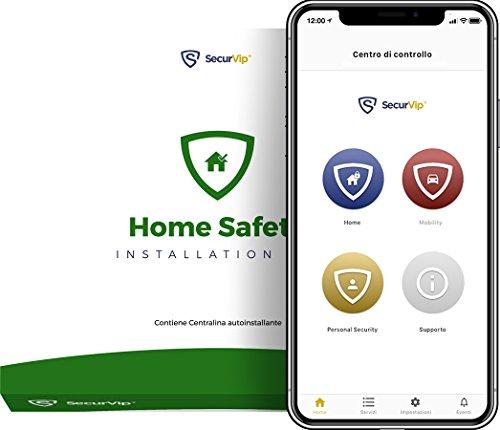 Home Safety Domestic Veiligheid: Centralin, overstroomsensor, rookmelder en temperatuursensor, huisalarm via app en centrale werking met Giurate Guarden.