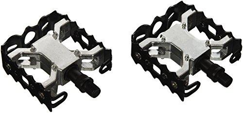 Wellgo Pedals - Paio Di Pedali Bmx-Free Style Alluminio E Acciaio Con Filettatura W-1/2