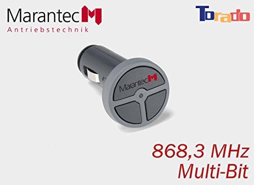 Marantec Digital 323 Handsender mit 868,3 MHz für Zigarettenanzünder