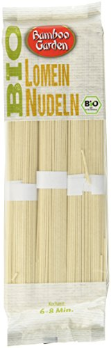 Bamboo Garden Bio Vollkorn Lomein Nudeln, 4er Pack (4 x 250 g)
