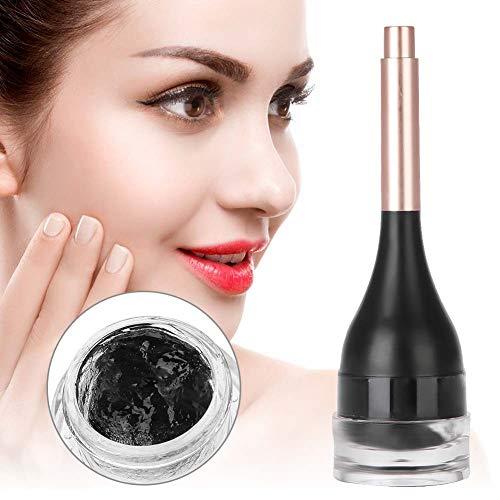 Extensiones de cejas, gel de fibra para la construcción de cejas Extensión de cejas a prueba de agua Fibra de cabello para cejas 3D Relleno de cejas preciso Maquillaje en polvo (Marron oscuro)