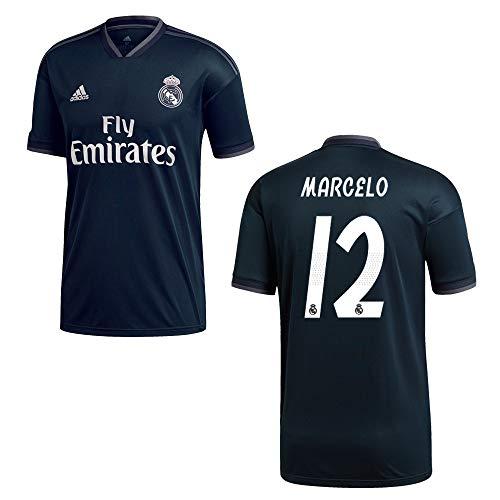 adidas REAL Madrid Trikot Away Kinder 2019 - Marcelo 12, Größe:176