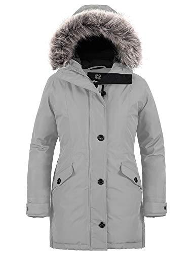 Wantdo Women's Casual Winter Warm Coat Hooded Work Parkas...