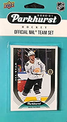 Boston Bruins 2020 2021 Upper Deck Factory Sealed 10 Card Team Set with Patrice Bergeron, Brad Marchand, Cam Neely and Phil Esposito Plus