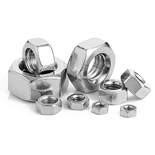 Stainless Hex Nut Pack of 50 (M2.5)