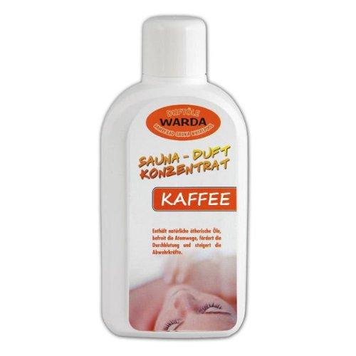Warda Saunaaufguss Kaffee Konzentrat 1.000 ml Flasche, Qualitätsöl, Markenöl 1Liter