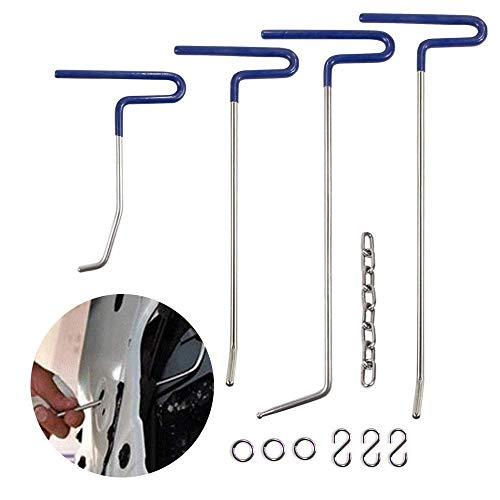 Mookis Werkzeuge Paintless Body Repair, Body Kit 9PCS Ohne Farbe, Ausbeulen und Reparatur Hagel