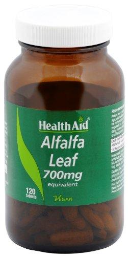 HealthAid Alfalfa 700mg - 120 Vegan Tablets