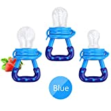 Best Baby Feeders - Baby Food Feeder 3 Pack Fresh Fruit Silicone Review