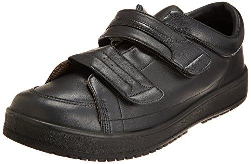 [ムーンスター] メンズ リハビリ 介護靴 Vステップ04 (両足同サイズ) 0088as ブラック 29.0 cm 3E