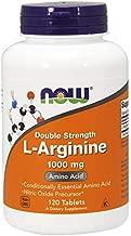 NOW Supplements, L-Arginine 1,000 mg, Nitric Oxide Precursor*, Amino Acid, 120 Tablets