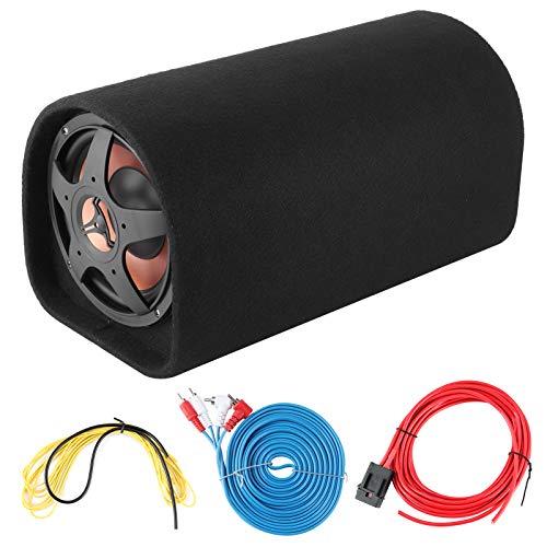 KIMISS para Audio Systems, Subwoofer de coche de 12V Altavoces de graves de coche Amplificador de sonido de modificación de para Audio de gran consumo