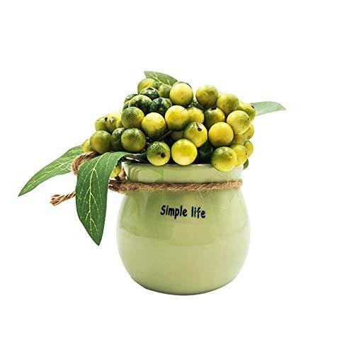 VCB Fruta Verde Planta en Maceta de Navidad,