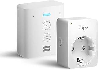 Echo Flex +Tapo P100 Presa intelligente Wi-Fi, compatibile con Alexa