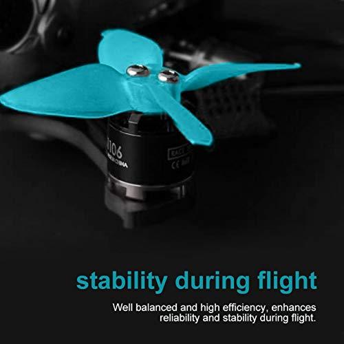 SALUTUYA Elica quadricottero Ecologica Plastica Facile da installare per quadricottero da Corsa FPV RC Multicopter