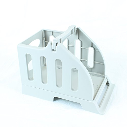 Foretra   Label Holder for Rolls and Fan-Fold Labels Great for Desktop Thermal Printers