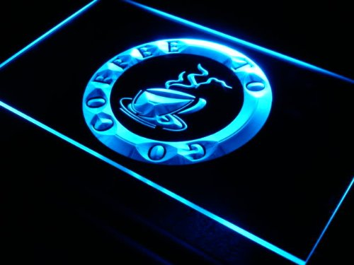 ADVPRO s017-b Coffee to Go Shop Cafe Pub Neon Light Sign Barlicht Neonlicht Lichtwerbung