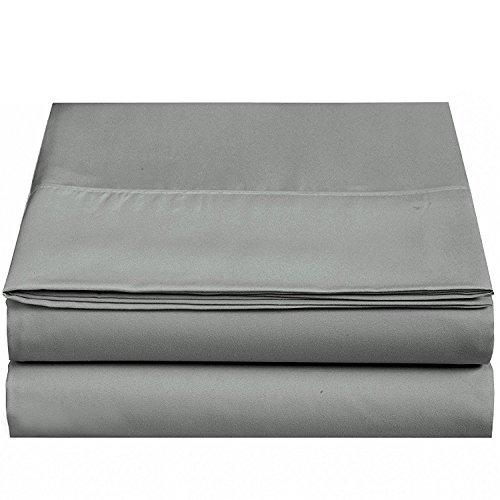 4U LIFE Flat Sheet-Ultra Soft & Comfortable Microfiber