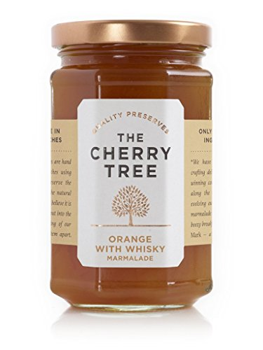 The Cherry Tree - Orangenmarmelade mit Whisky / Orange with Whisky Marmalade - 340 g