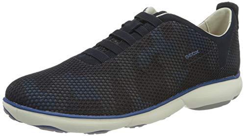 Geox Herren U Nebula A Sneaker, Blue, 45 EU